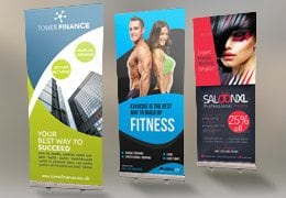 Pull-up Roller Banners