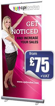 Pull up roller banners from £75
