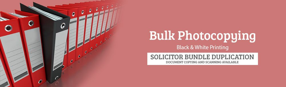 Solicitor Bundle Photocopying