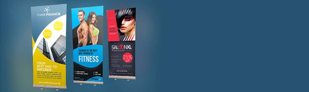 Pull up banner printing main banner