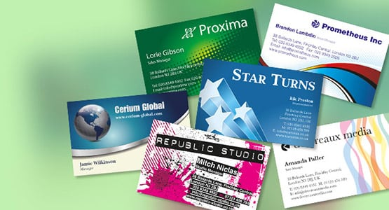 Business Cards CPI Printers in London