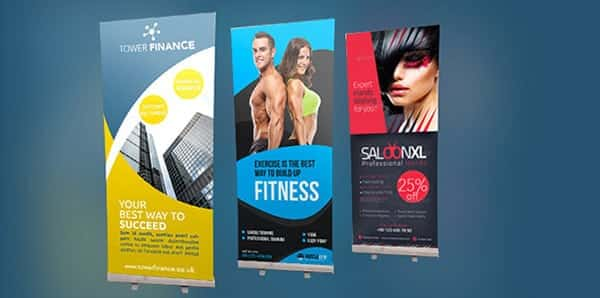 Pullup roller Banner Printers in London