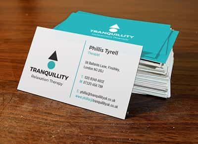 Matt Laminated Business Cards printers in London