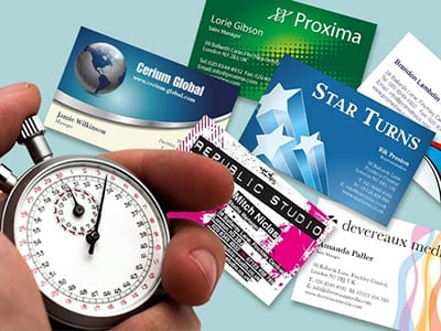 Same Day Business Cards printers in London