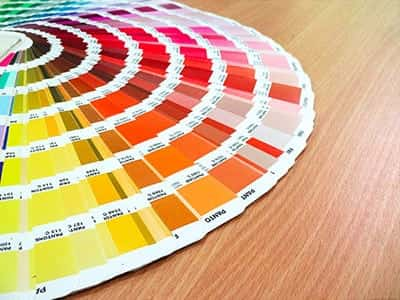 Spot Colour Pantone Swatch Printers in London