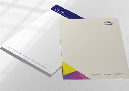 Letterhead Printing A4 CPI Printers in London