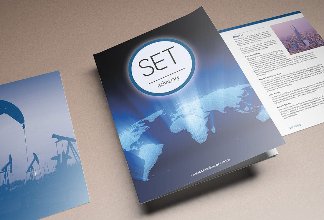 A4 Corporate Brochure Design and Print