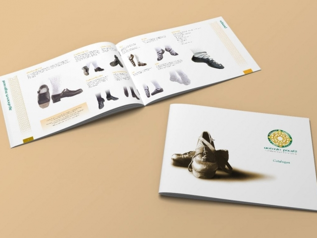 A4 landscape product catalogue design and print AP