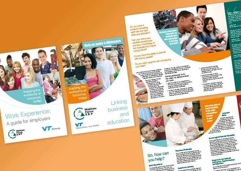 A5 Booklet design and print Waltham Forest Council