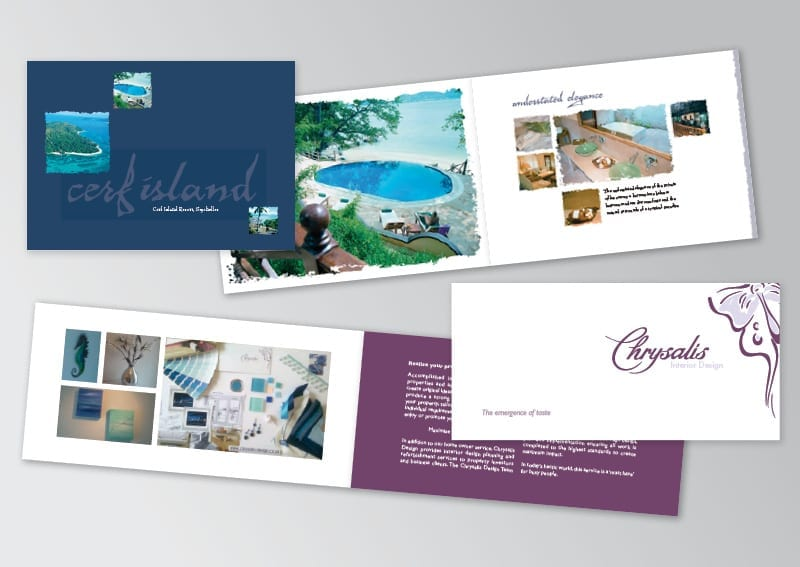 Landscape A5 Brochures design and print