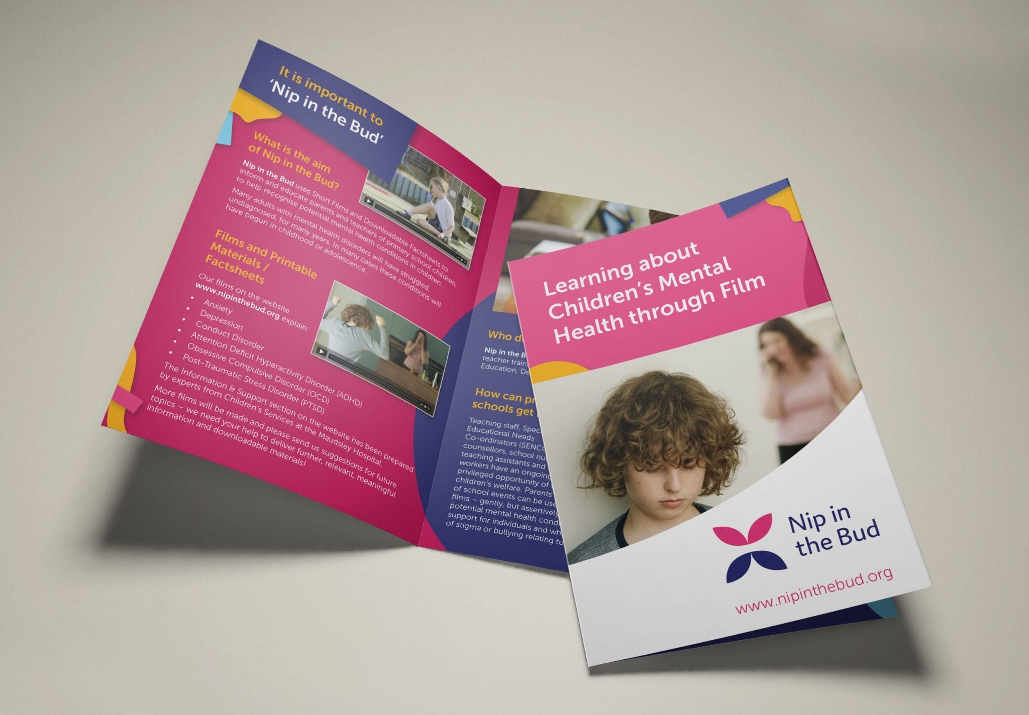 A5 promotional booklet Design and print - Nip in the Bub