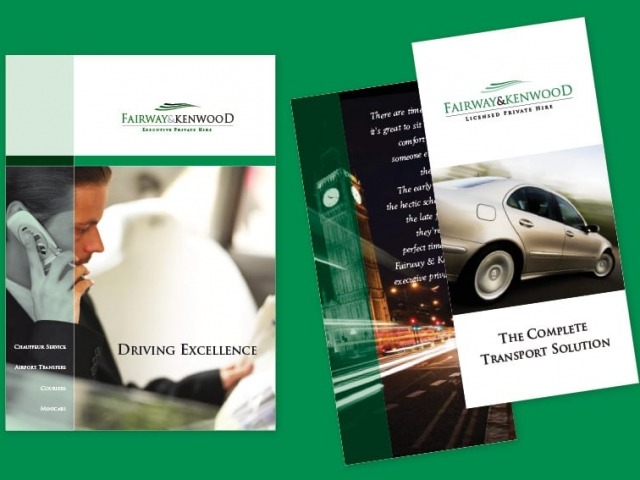 Corporate Folder and brochure design