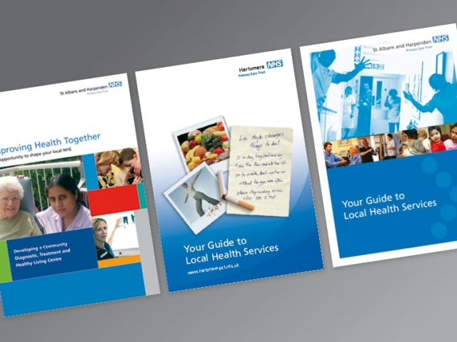 Information Leaflet design and print NHS