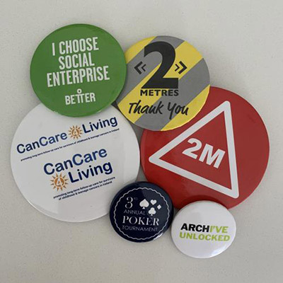 promotional Items Button Badges
